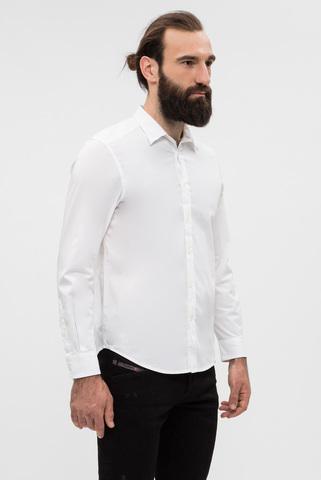 Мужская белая рубашка Diesel