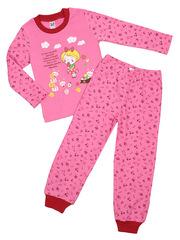 201447/2-1 пижама для девочек, розовая