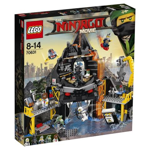 LEGO Ninjago Movie: Логово Гармадона в жерле вулкана 70631 — Garmadon's Volcano Lair — Лего Ниндзяго фильм