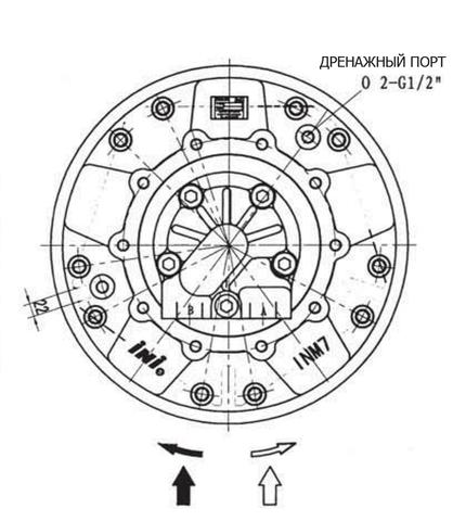 Гидромотор INM7-3300