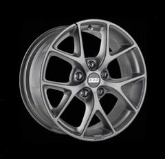 Диск колесный BBS SR 7x16 5x120 ET36 CB82.0 satin himalaya grey