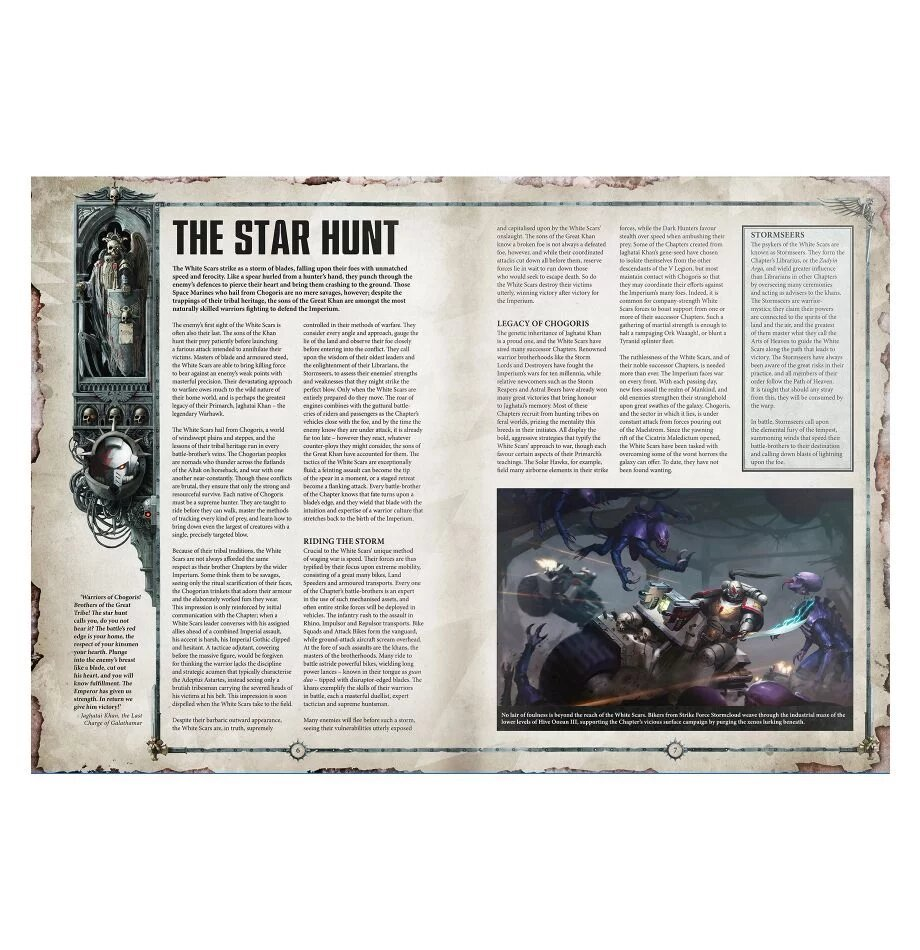 Codex Supplement: White Scars (English)