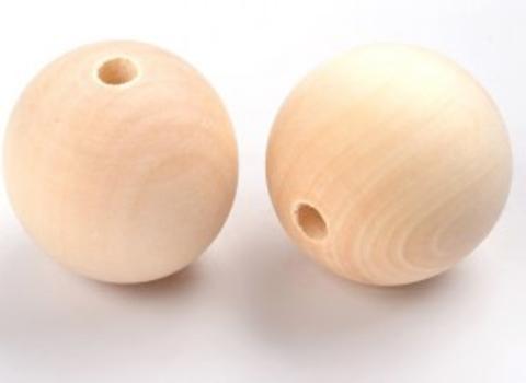 056-9878 Бусина деревянная,  1,5 см