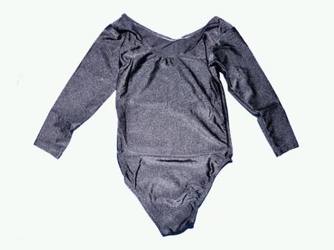 Купальник гимнастический. Состав: полиэстер. Размер S. Цвет чёрный. :(2014):