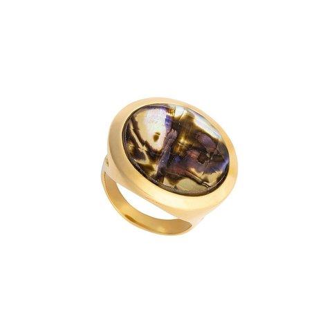 Кольцо abalone 16.5 K9853.14/16.5 BR/G
