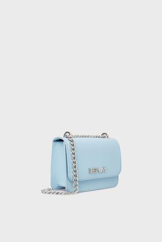 Женская голубая сумка Replay