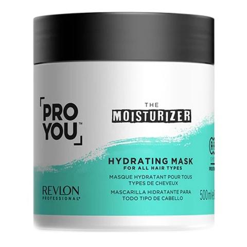 REVLON ProYou Moisturizer: Маска увлажняющая для всех типов волос (Hydrating Mask), 500мл