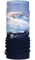 Элитная тёплая мультибандана BUFF® Mountain Collection Polar Mont Blanc Blue