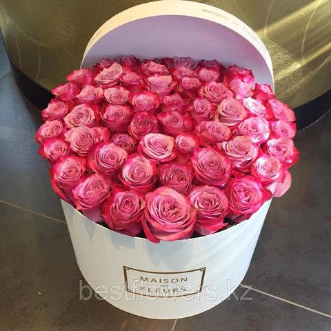 Коробка Maison Des Fleurs с розами 35