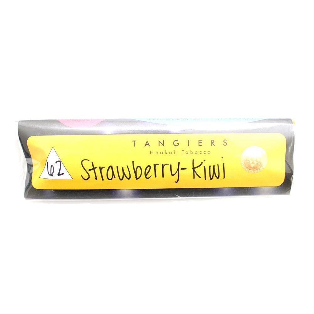 Табак для кальяна Tangiers Noir (желт) 62 Strawberry-Kiwi 250 гр.