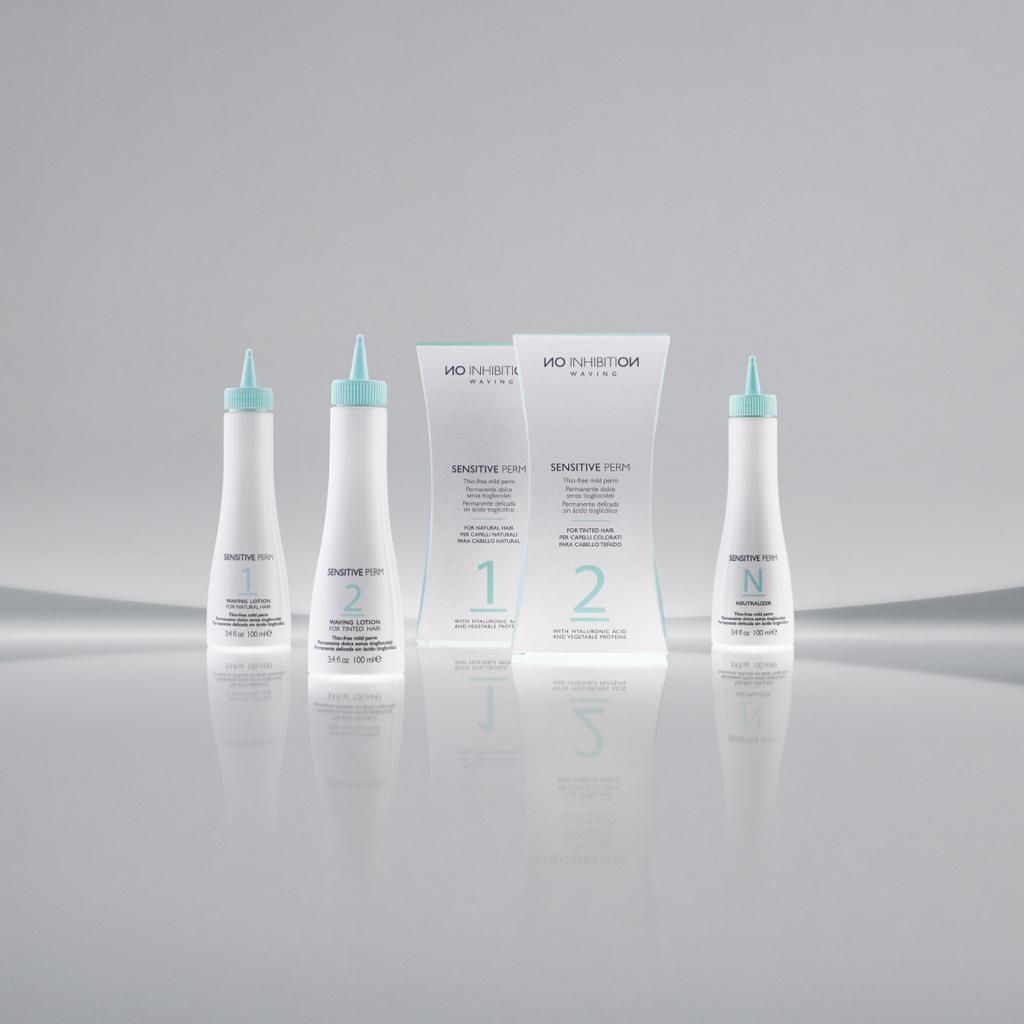 Химическая завивка для окрашенных волос / Nо Inhibition sensitive perm 2 monodose