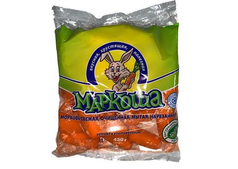 Морковь Очищенная Маркоша, 450 г