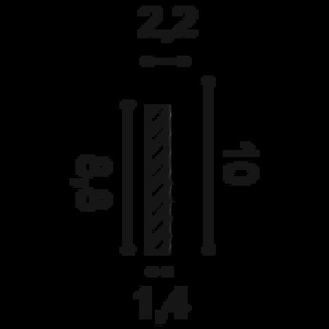 Плинтус Byblos DUROPOLYMER® SX171 COVER SKIRTING