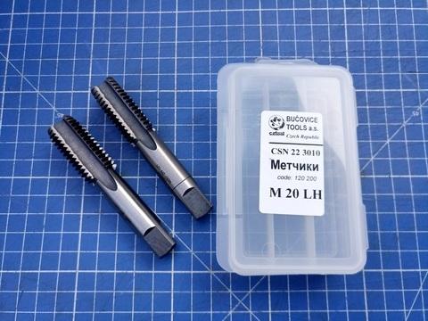 Метчик левый комплектный Bucovice 120200 ?SN 22 3010 LH M20х2,5мм 2шт