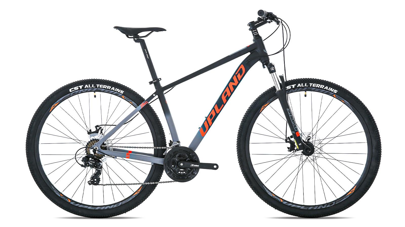 горный велосипед Upland X90 оранжево-черный