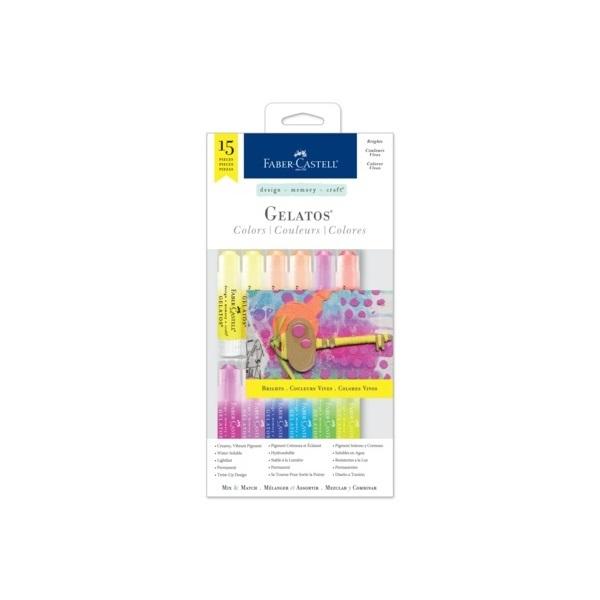 Набор красок Gelatos от Faber-Castell
