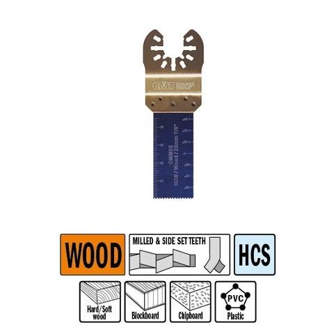 Погружное пильное полотно 22 мм для древесины