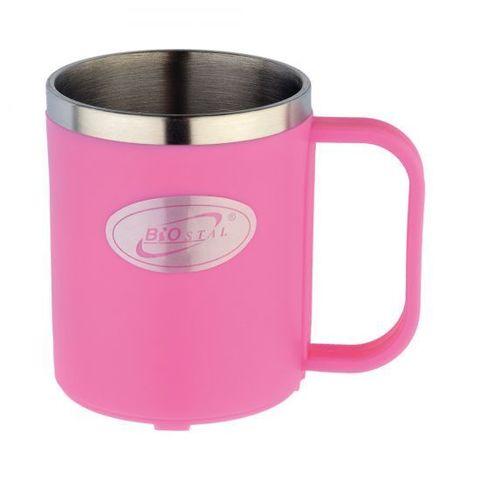 Кружка Biostal Flër (0,2 литра), розовая