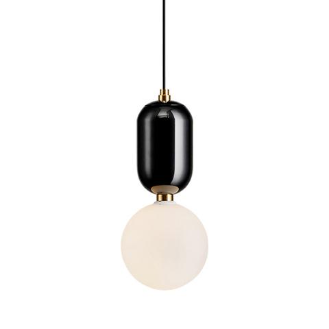 Подвесной светильник Aballs  by Parachilna (черный, D30)