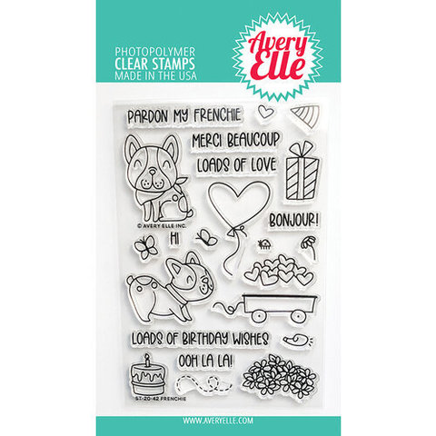 Набор штампов - Photopolymer Clear Stamps - Avery Elle