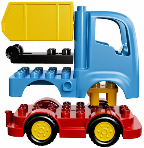 LEGO Duplo: Грузовик 10529 — Truck — Лего Дупло