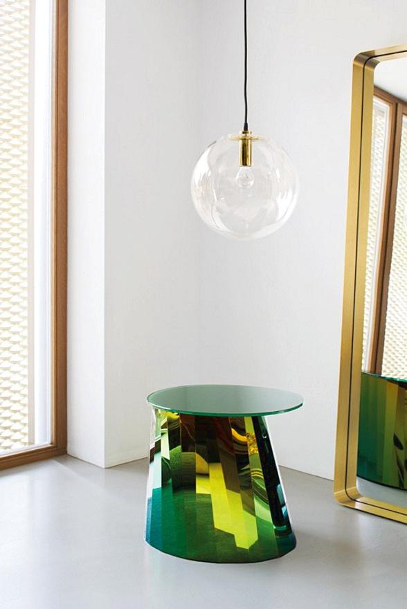 Подвесной светильник копия SELENE by ClassiCon D35 (бронзовый)