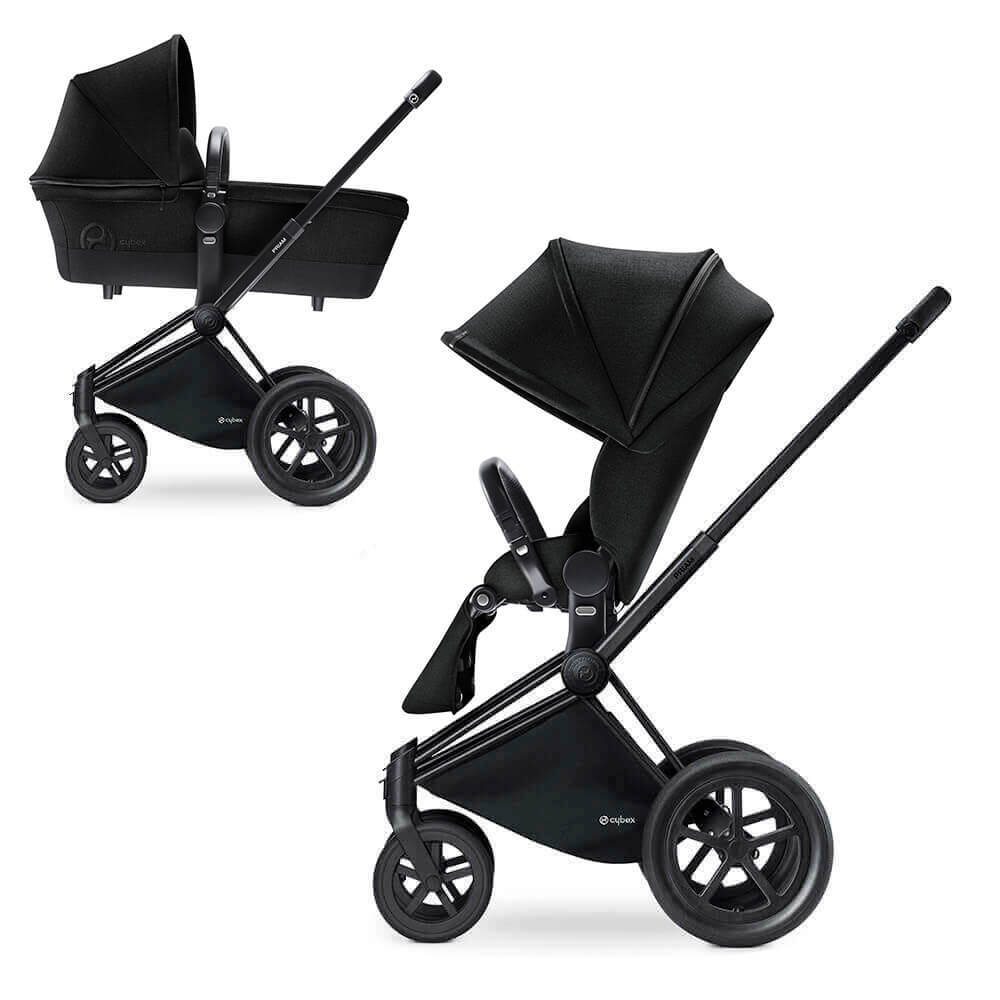 Цвета Cybex Priam 2 в 1 Детская коляска Cybex Priam Lux 2 в 1 Stardust Black шасси Matt Black/All Terrain cybex-priam-stardust-black-matt-black-all.jpg