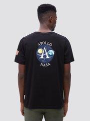 Футболка Alpha Industries Apollo Black (Черная)