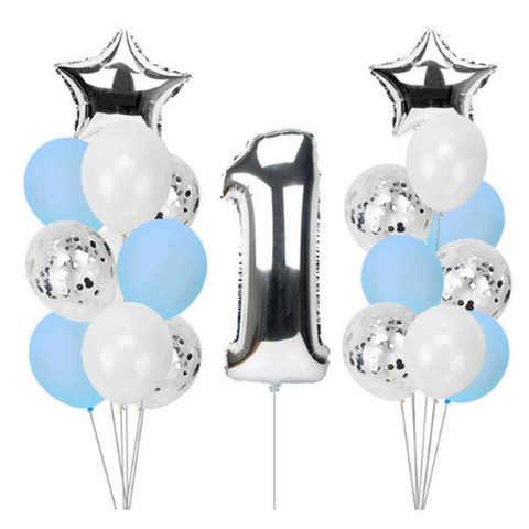 Композиция из воздушных шаров на 1 год мальчику
