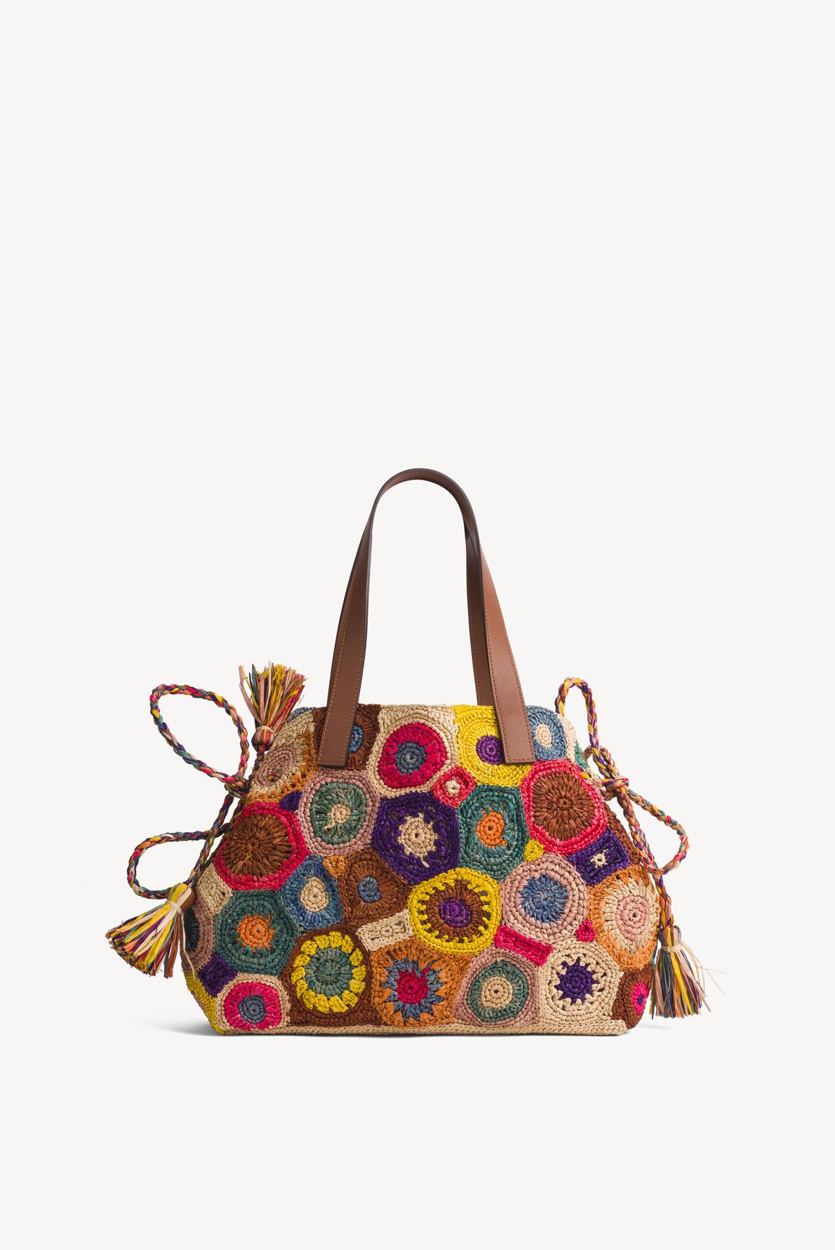 PANIER - плетеная сумка