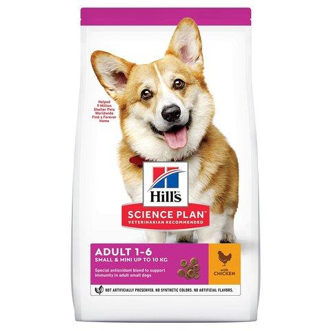 Hill's Science Plan сухой корм для собак мелких пород с курицей - 6 кг