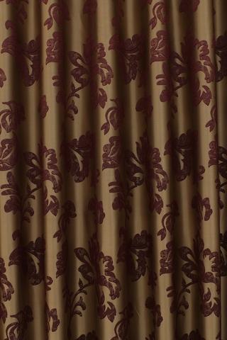 Готовая штора Сьюзен бордовый