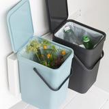Набор ведер для мусора SORT&GO 16л (2шт), артикул 110023, производитель - Brabantia, фото 6