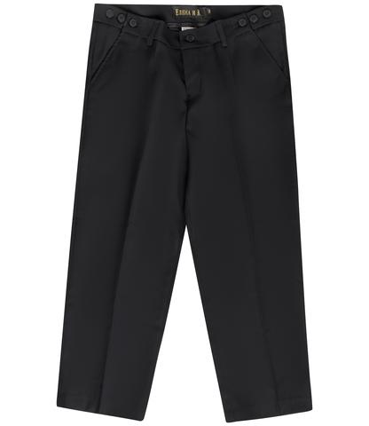 Школьные классические брюки для мальчика полной комплекции