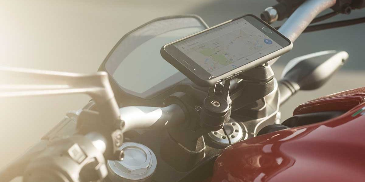 Крепление для смартфона на мотоцикл SP Moto Mount Pro