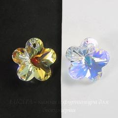 6744 Подвеска Сваровски Цветочек Crystal AB (20 мм)