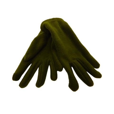 Перчатки флисовые оливковые