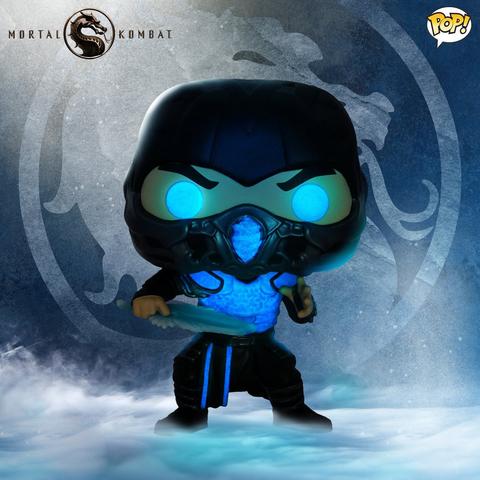 Фигурка Funko POP! Movies Mortal Kombat Sub Zero (GW) (Exc) 55647