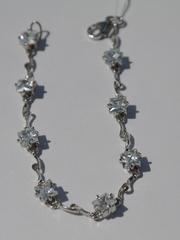 Квадрат малый  (серебряный браслет)