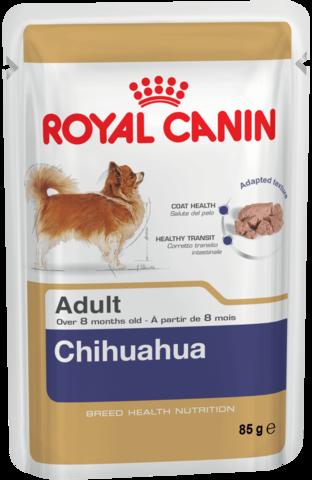 Royal Canin CHIHUAHUA ADULT паштет для собак породы чихуахуа