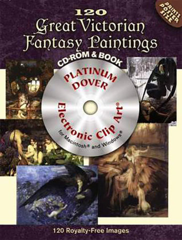 9780486990040 - 120 Great Victorian Fantasy Paintings CD-ROM and Book