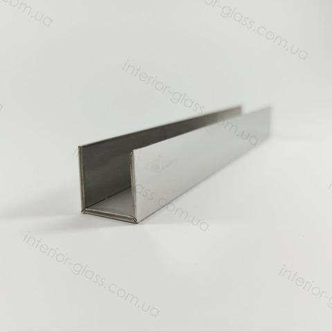 Швеллер (профиль) нержавеющий 19x19x19 мм, L=3,4 м ST-503 PSS