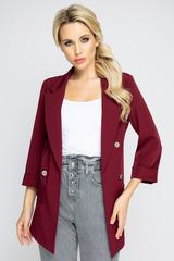 """<p>Модный пиджак """"Бугатти"""" поможет создать эффектный образ. Можно сочетать с брюками, джинсами и юбкой. Незаменимая вещь в гардеробе модниц.</p>"""