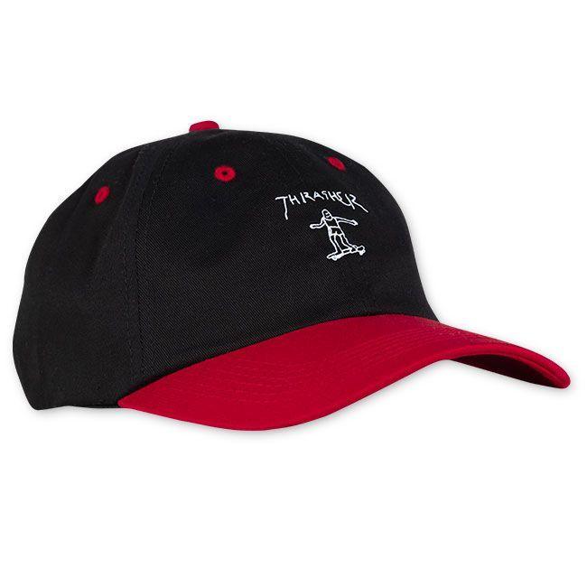 Кепка THRASHER Gonz Old Timer Hat Black/Red