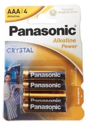 Батарейка PANASONIK LR03 Alkaline Power BL4 (48)