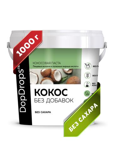 DopDrops(tm) Паста кокосовая без добавок 1000г