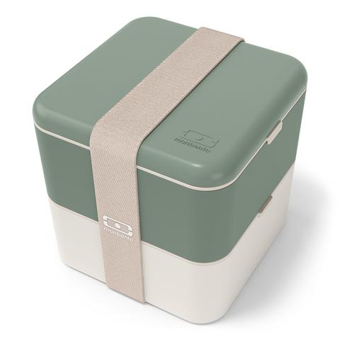 Ланч-бокс mb square cn, зеленый
