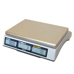 Весы торговые настольные MAS MASter MR1-6, RS232, USB (опция), 6кг, 1/2гр, 310х220, с поверкой, без стойки