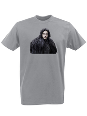 Футболка с принтом Игра престолов (Game of Thrones) серая 002