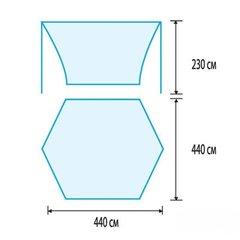 Тент Tramp Lite Tent blue, синий - 2